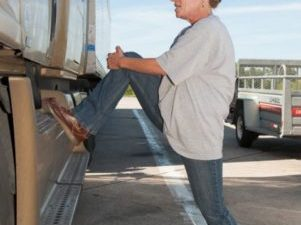 Lower Back Pain in Truck Drivers:  Spinal Decompression Exercises
