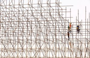 workers at scaffolding, workers' compensation
