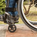 disabled person on wheelchair, social security disability
